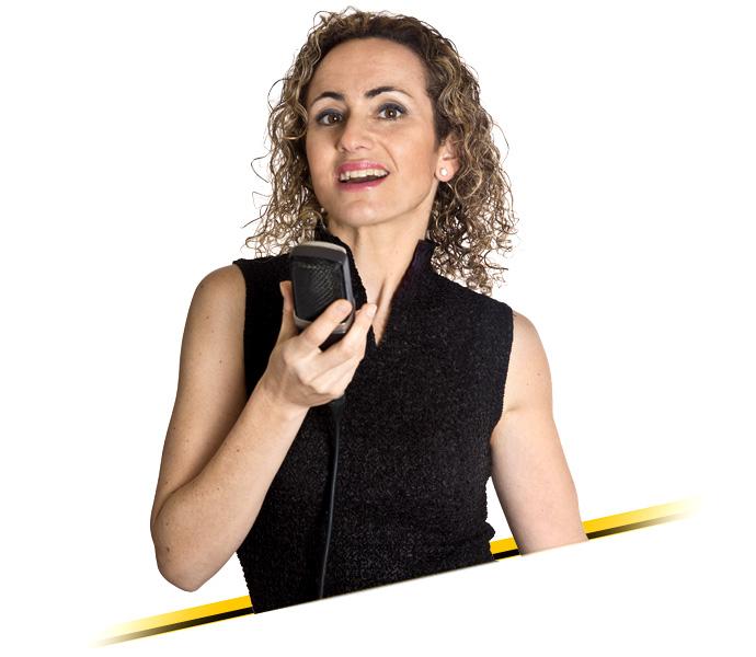 Locutora catalana